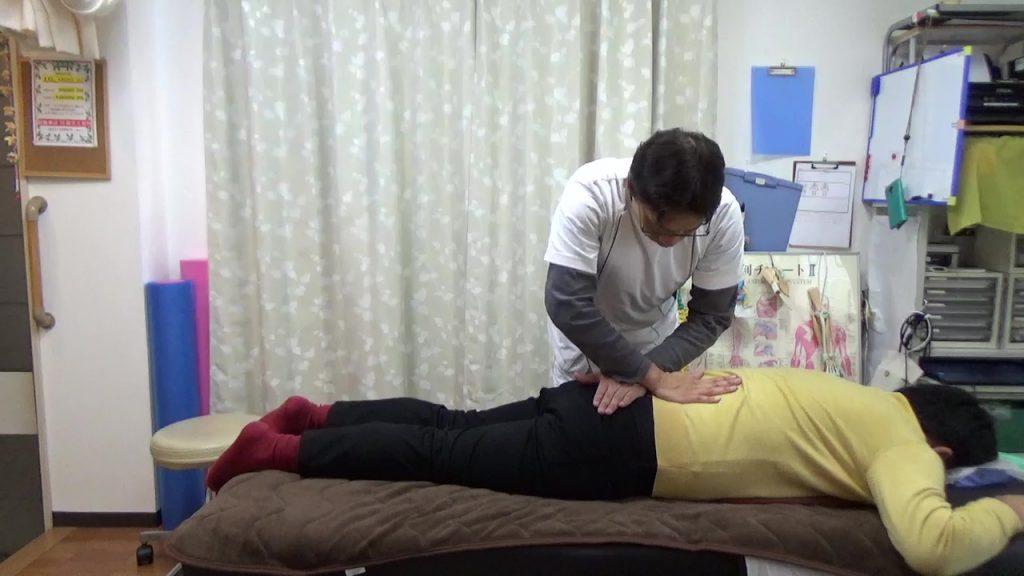 一定の持続圧筋膜リリース