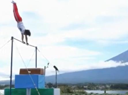 鉄棒大車輪