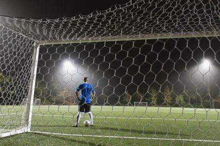サッカー画像ゴール