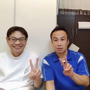 短距離走による股関節痛が1回で取れた天王寺区の患者様