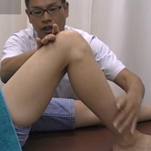 膝関節ひざの関節ポーズ