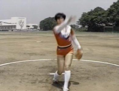 ソフトボール投手ピッチャー